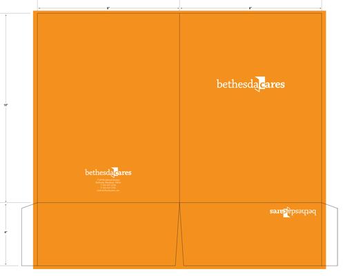 Bethesda Cares presentation folder