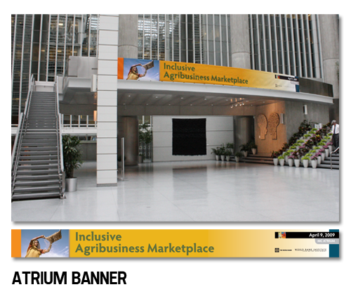 Executive Development Program atrium banner