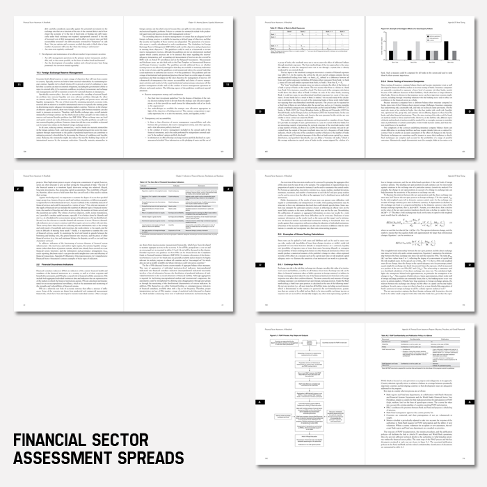 Financial Sector Assessment book spreads