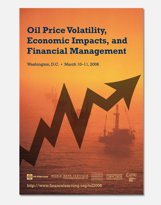 Oil Price Volatility poster