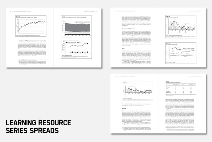 Learning Resource Series spreads