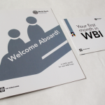 Welcome aboard booklet and brochure