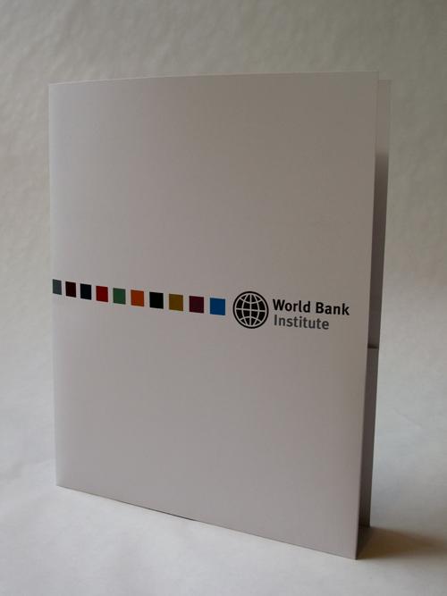 WBI presentation folder